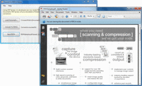 PDF Xpress - Professional .NET - v6 SP1 의 스크린샷