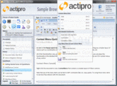 Screenshot of Actipro Ribbon for WPF - .NET Component - 2013.2
