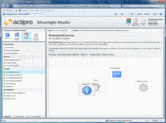 Screenshot of Actipro Silverlight Studio - .NET Component - 2015.1