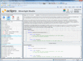Screenshot of Actipro Silverlight Studio - .NET Component - 2013.2