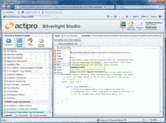 Screenshot of Actipro Silverlight Studio - .NET Component - 2014.2