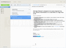 Screenshot of WebMail Pro - PHP Edition - 7.1