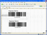 Screenshot of Aspose.BarCode Product Family - .NET - V