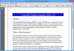 Screenshot of Aspose.Pdf - .NET - V9.9.0