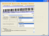 Atalasoft DotImage BarcodeReader Add-On - Add-On - 10.5의 스크린샷