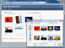 Screenshot of Aurigma Image Upload Suite - Flash - 7.2.9
