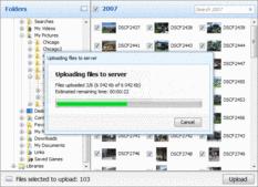 Bildschirmabzug vonAurigma Image Upload Suite - Premium - 7.0.37