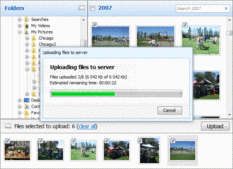 Screenshot of Aurigma Image Upload Suite - Professional - 7.0.37