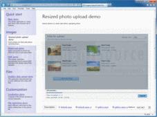 Screenshot ofAurigma Image Upload Suite - Suite - 8.1.12