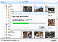Screenshot of Aurigma Image Upload Suite - Express - 7.0.37