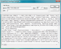 Screenshot of SocketTools HTTP Toolbox - .NET/ActiveX/DLL - V6.0