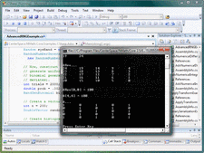 Screenshot of NMath - .NET - V5.3