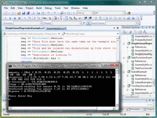 Screenshot of NMath Stats - .NET - V3.6