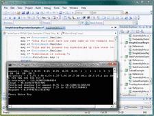 Screenshot ofNMath Stats - .NET - V4