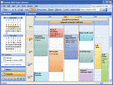 Screenshot of Codejock Calendar ActiveX