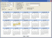 Captura de pantalla Codejock Calendar - Visual C++ MFC - 2013