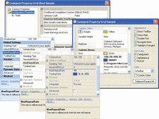 Screenshot of Codejock Property Grid - ActiveX COM - 2014