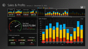 Screenshot of ComponentArt Data Visualization for .NET Ultimate - .NET - 2012