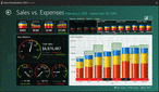 Captura de pantalla ComponentArt Data Visualization for WPF