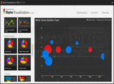 Screenshot of ComponentArt Data Visualization for WPF - .NET - 2012