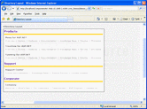 Screenshot of ComponentArt SiteMap for ASP.NET - ASP.NET - 2008.2