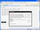 Screenshot of ComponentArt SpellCheck for ASP.NET - ASP.NET - 2008.2