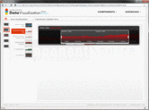 Capture d'écran - ComponentArt TimeNavigator for Silverlight - Silverlight - 2011