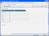 Screenshot of ComponentArt Toolbar for ASP.NET - ASP.NET - 2008.2