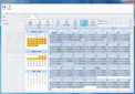 Screenshot of ComponentOne Scheduler for LightSwitch
