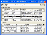 Captura de pantalla True DBGrid Pro - ActiveX - 8.0 (2014 v1)