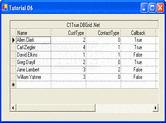的使用画面 ComponentOne True DBGrid for WinForms - .NET Winforms - 2013 v1的使用画面