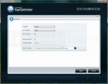Screenshot of ComponentOne XAP Optimizer - Application - 2013 v1