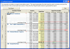 Screenshot of FarPoint Spread - ActiveX/DLL - V8.0