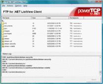 Screenshot ofPowerTCP FTP for .NET - .NET Component - V4.6.0.1