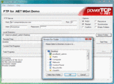Screenshot of PowerTCP FTP for .NET - .NET Component - V4.5.5.2