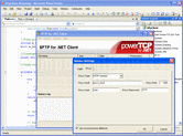 Captura de pantalla PowerTCP SSH and SFTP for .NET - .NET - V4.5.0.3