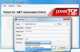 Screenshot of PowerTCP Telnet for .NET - .NET Component - V4.4.5.1