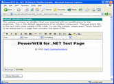 PowerWEB TextBox for ASP.NET - ASP.NET - V3.2의 스크린샷