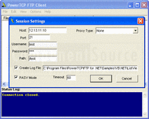 Screenshot of PowerTCP .NET Suite Subscription - .NET Component