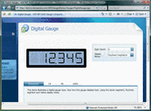 Screenshot of ASPxGauges Suite - ASP.NET - 12.2.8