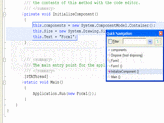 Screenshot of CodeRush for Visual Studio .NET (CodeRush with Refactor! Pro) - .NET - 14.1.5