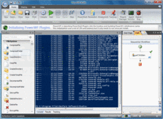 Screenshot of PowerWF - Visual PowerShell - Application - V2.5