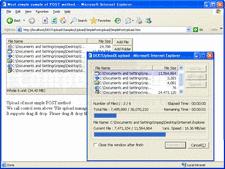 Captura de tela deDEXTUploadX - ActiveX - V3.0.3