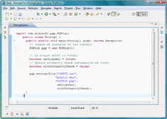 Screenshot of OpenPGP Library for Java - Java - 2.6.4.7