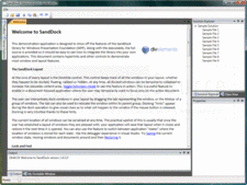 Screenshot of SandDock for WPF - .NET WPF - V1.4.5