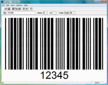 Screenshot of dBarcode 1D Developers Kit - ActiveX DLL - V10