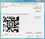 Screenshot of dBarcode.NET 2D Universal - .NET - V5.0