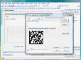 Screenshot of dBarcode.NET Datamatrix - .NET Component - V5.31