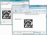 Screenshot of dBarcode.NET Datamatrix - .NET Component - V5.0