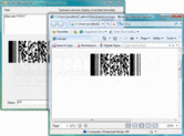 Screenshot of dBarcode.NET PDF417 - .NET Component - V5.31